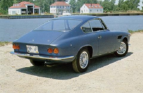 Asa 1000 coupe bertone rear view (1965)