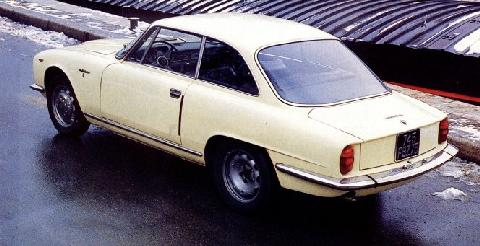 Alfa Romeo 2600 Sprint (1963, rear view)