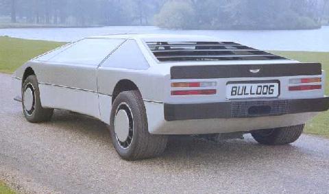Aston Martin Bulldog Motorbase - Aston martin bulldog