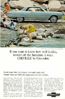 Chevrolet Chevelle Malibu SS Sport Coupe Advert (1965)