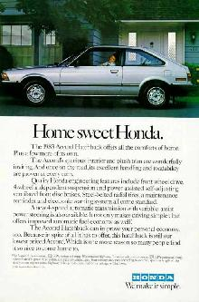Honda Accord Hatchback (1983)
