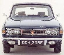 Rover 2000TC (1968, front view)