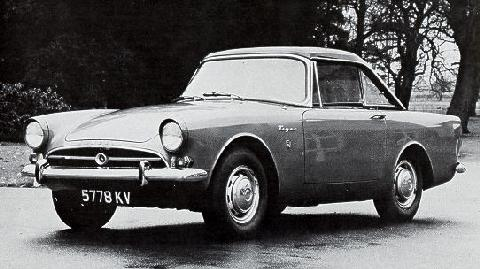 Sunbeam Tiger Coupe prototype (1963)