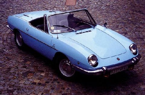 Fiat 850 Spyder - Motorbase