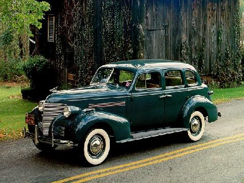 chevrolet master deluxe series ja sport sedan (1939) - picture