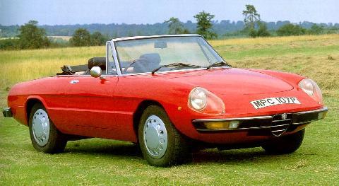 Alfa Romeo Duetto 2000 Spider 1976 Picture Gallery