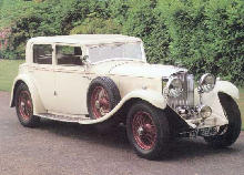 Bentley 8 Litre Mulliner Sloon Body (1930)
