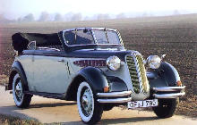 BMW 326 Cabriolet Front view (1936)