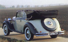 BMW 326 Cabriolet Rear view (1936)