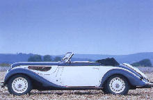 BMW 328 Sport Cabriolet Side view (1938)