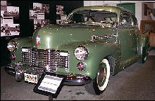 Cadillac 62 Coupe Front ViewGreen (1941)