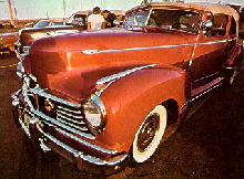 Hudson Commodore Convertible Red  (1946)