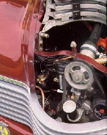 Jowett Javelin Pd Engine Compt (1951)