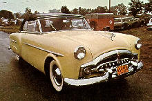 Packard 250 Convertible Fvr Yellow  (1951)