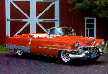 Cadillac Eldorado Convertible Red  (1954)