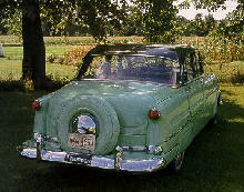 Hudson Super Jet Rear view  (1954)