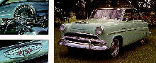Hudson Super Jet Sedan 3pix Green  (1954)