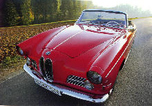 BMW 503 Cabriolet Front view (1956)