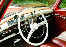 Mercedes Benz 219 Sedan Dash (1956)