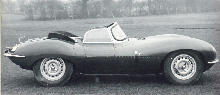 Jaguar XK-SS Side view (1957)