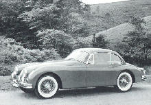 Jaguar Xk150 S Fhc Side view (1958)