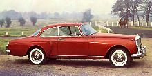 Bentley S2 Continental Saloon Red Svr (1961)