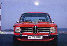 BMW 2002 Ti Front view (1968)