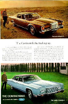 Lincoln Continental Mk III  Continental Sedan (1971)