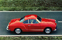 Volkswagen Karmann Ghia Coupe Side view (1972)