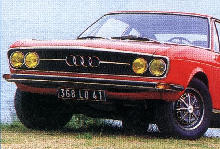 Audi 100 Coupe S (1973)