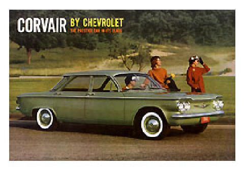 Chevrolet Corvair Brochure Cover (1960)