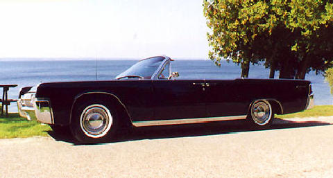 Lincoln Continental Convertible (1963)