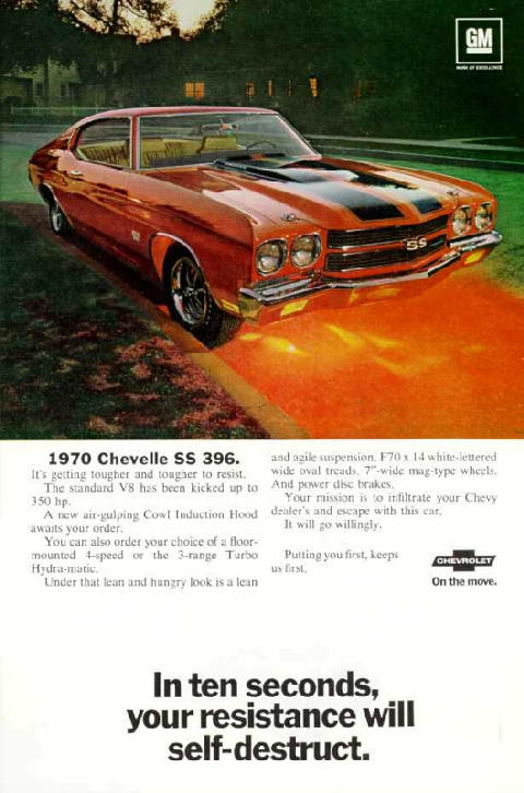 Chevrolet Chevelle SS 396 Sport Coupe (1970)