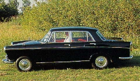 Morris Oxford Vi Saloon Side View (1971)