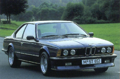 BMW M635 Csi Front view (1983)
