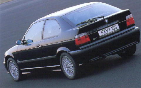 Bmw 318 Ti Compact Rear View 1996 Picture Gallery