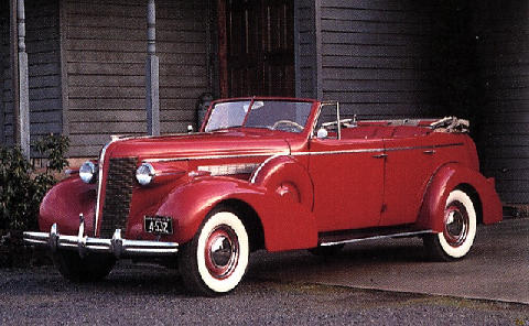 Buick Roadmaster Convertible(1937)