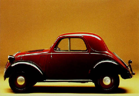 Fiat 500b Topolino Vehicle Summary Motorbase
