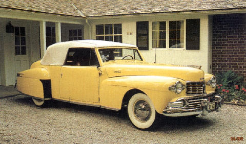 Lincoln Continental Mark1 (1948)