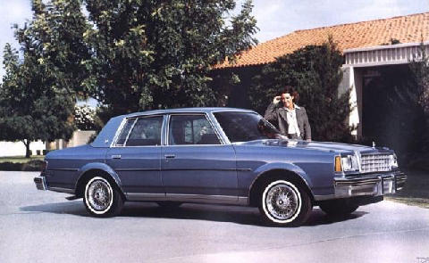 Buick Century Limited Sedan 1980 Picture Gallery Motorbase