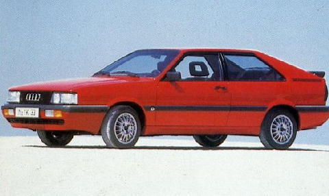Audi Coupe GT (1985)