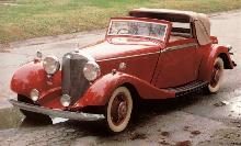 Mercedes Benz 500 K Sedanca (1936)