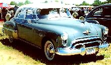 Oldsmobile 76 6cyl 4d Sedan  Fvr Carnut Mmod  (1950)