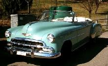 Chevrolet Deluxe Convertible Green  Fvl Mmod  (1952)