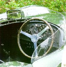Aston Martin Db3s   Green   Cockpit (1955)