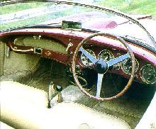 Aston Martin Db2 4 Mark Ii   Spyder By Touring   Cockpit (1956)