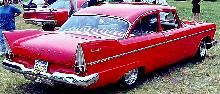 Plymouth Savoy 2d Sedan  Rvr Red Carnut Mmod  (1958)