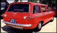 Corvair Lakewood Red  Rvr (1961)