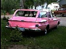 Plymouth Savoy Rearv Pink Steve Max  (1962)