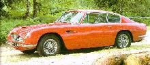 Aston Martin Db6   Red   Fvl (1966)